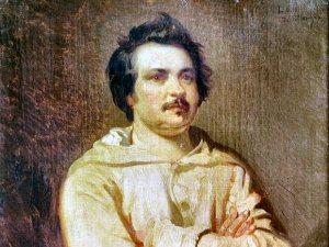 Louis Boulanger, Balzac 1829
