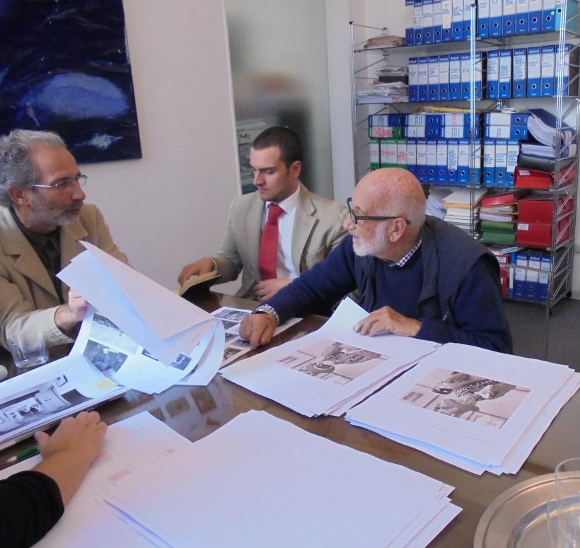 berengo gardin dialoga con l'art director marcello francone