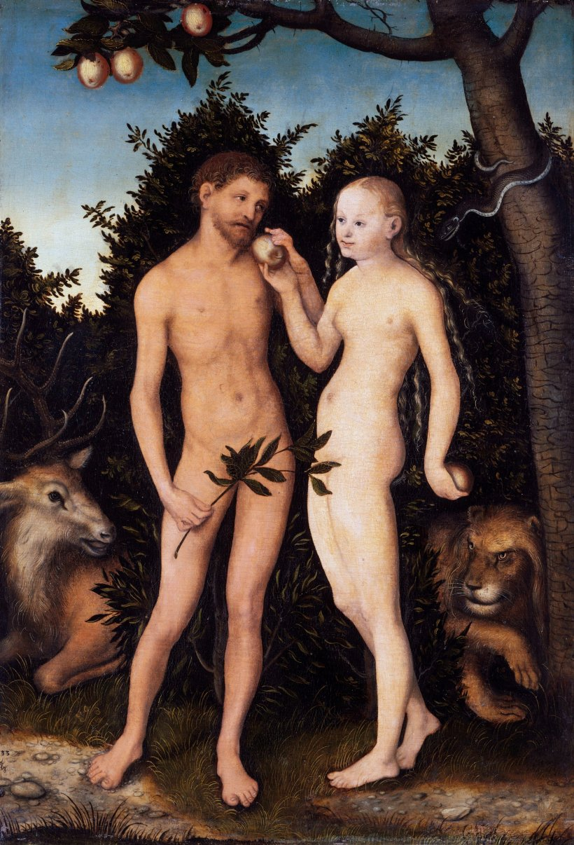 Lucas_Cranach_the_Elder_-_Adam_und_Eva_im_Paradies_Sündenfall_-_Google_Art_Project